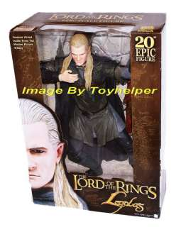 LORD OF THE RINGS LEGOLAS FIGURE DOLL STATUE ELECTRONIC