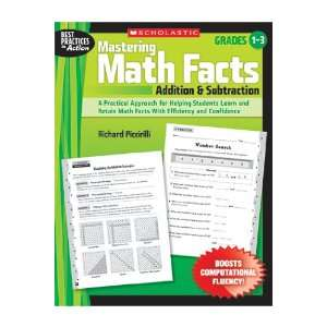 Quality value Mastering Math Facts Addition & By