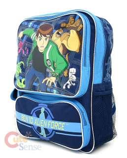 Ben 10 Alien Force School Large Backpack Lunch Bag Set