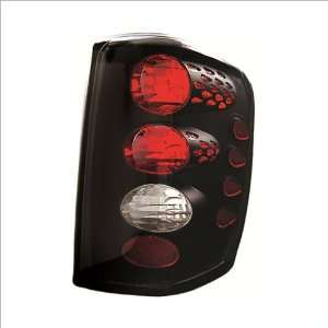 IPCW Black Tail Lights (1 Pair) 99 04 Jeep Grand Cherokee