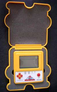 RARE 80s Vintage Nintendo Game & Watch Mario Bros F1 Race
