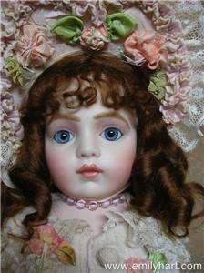 Bebe Bru jne 10 Mignonette porcelain doll HEAD ONLY by Emily Hart