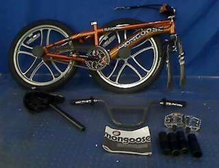 NEW MONGOOSE RAID FREESTYLE BIKE 20 INCH WHEELS $164.99