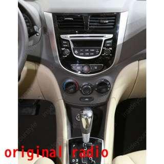 car gps navigation dvd system for hyundai verna accent model year 2011
