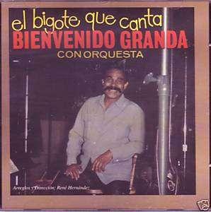 Bienvenido Granda   El bigote que canta con Orquesta