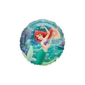 18 Disney Princess Ariel Underwater   Mylar Balloon Foil