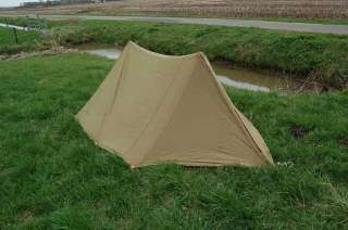 WWII US Army airborne Shelter half Tent dated early