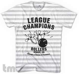 VENICE ROLLERS Big Lebowski American Apparel T Shirt
