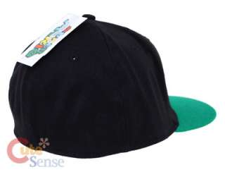 Super Mario Green Mushroom Baseball Cap, Flex Fit Hat