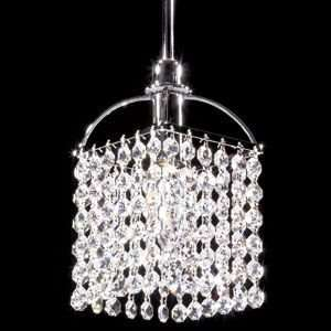 Tekno Mini Alfa Clear Crystal Pendant by James R Moder