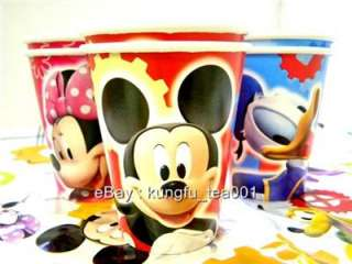 6pc Mickey Minnie Mouse Donald Duck Birthday Party Cup