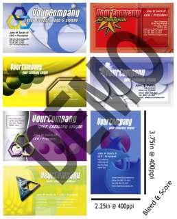 2300 CMYK PSDTemplates Photos Graphic Logo Custom Print Business Card