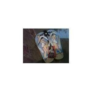 Marilyn Monroe Flip Flops Sandals Medium Size Everything