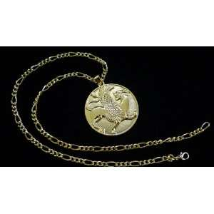 Persian Empire Symbol Necklace Iranian Art Faravahar Iran
