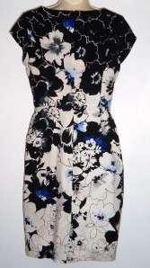 WHITE HOUSE BLACK MARKET Floral Print Dress sz 4
