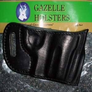LEATHER YAQUI BELT SLIDE RH HOLSTER for TAURUS JUDGE