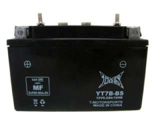 Sealed Battery UT7B 4 YT7B BS for Yamaha YFZ 450 YFZ450 ATV 04 09 08