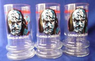 Taco Bell Star Trek TUMBLERS Glasses Drinking 1984