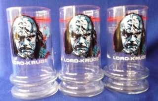 Taco Bell Star Trek TUMBLERS Glasses Drinking 1984