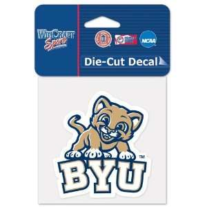 Brigham Young University Die Cut Decal 4x4 Everything
