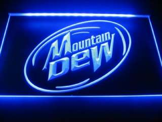 Mountain Dew Logo Beer Bar Pub Store Neon Light Sign LED Neon W1601