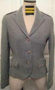 RUGBY RALPH LAUREN 2 Women $298 NWT Jacket Blazer Wool and Alpaca