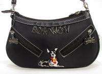 Ladies Sydney Love Black Fabric Doggie Purse NEW NWT