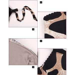 Vintage Glamour Super Boost Push Up Bra Detachable Halter/Wide Straps