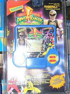 Tiger electronic hand held LCD game Power Rangers Blue
