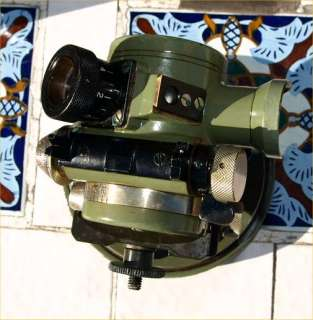 Wild Heerbrugg Swedish Army Theodolite Transit Survey Nice