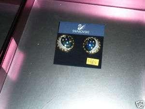 Swarovski austrian crystal jewelry clip on earrings 46