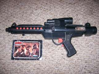 Star Wars Electronic Laser Rifle Gun Vintage 1980 Rare Han Solo Luke