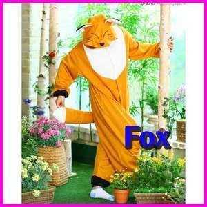 POP STAR SHINee SAZAC Kigurumi Costume Cosplay Animal Pajama *Fox