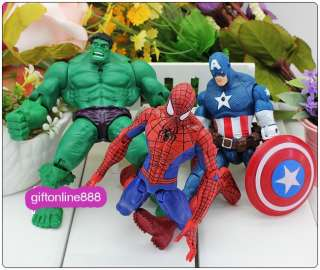 The Avengers Movie Series Collection Hero Action Figure Set/6pcs