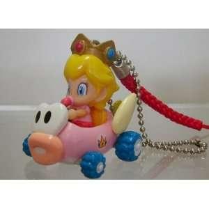 Nintendo Super Mario Tiny Mini Kart Figure Strap Keychain
