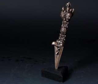 Big FACE Yamataka Phurba Dorje CHU Tibet Buddhist Dagger