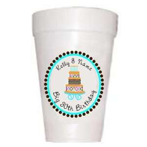 Personalized Birthday Cake Boy Cups: Health & Personal Care