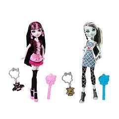 These are the coolest ghouls at Monster High in their trendiest school