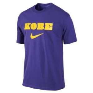 Nike Mens Kobe Bryant Mens Shirt Purple Size small