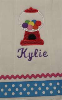 Personalized Baby Burp Cloths   Great Baby Shower Gifts