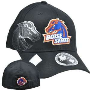 NCAA Boise State Broncos Hat Cap Flex Fit Stretch One Fit