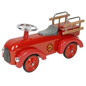 Classic Fire Engine Racer Pedal Car Toys & Games