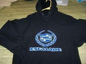 Cadillac ESCALADE HOODIE Sweat Shirt Size S