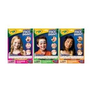 Crayola Quick & Easy Face Paint Kit Assortment 3 Designs