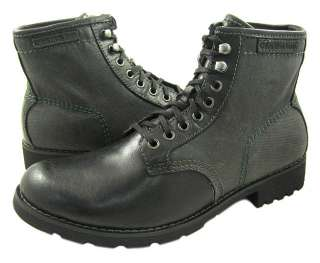 New Calvin Klein Jeans Men Trevor Black Boots ALL SZ