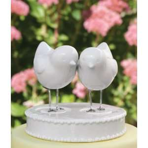 Handmade Love Birds Cake Topper: Home & Kitchen