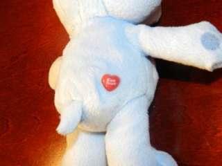 Grumpy Bear Care Bears Plush Stuffed Animal Toy Rain Cloud Blue Heart