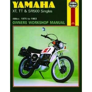 Haynes Manual   Yamaha XT TT SR500 Singles 75 83 Automotive