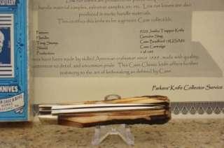 Case Classic 5223 Genuine Stag Barehead Jumbo Trapper Knife Cartridge