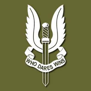SAS Special Air Service SASR NZ UK Vinyl Sticker VLSAS